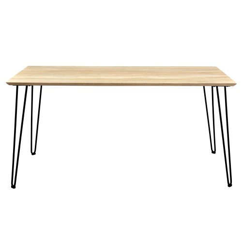 table a manger rectangulaire riga 160 cm
