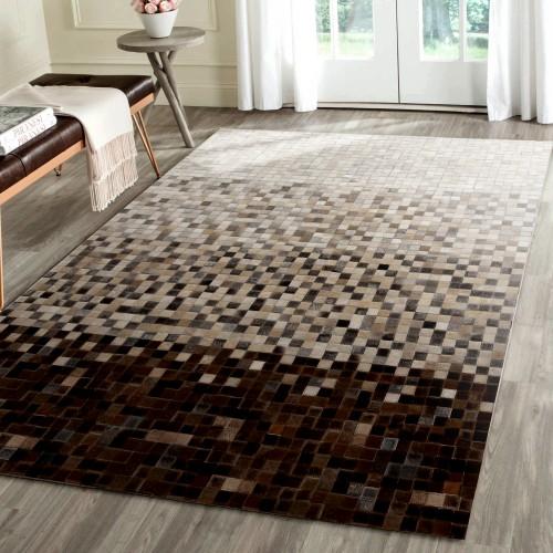 tapis cuir sanjay 200x300 cm
