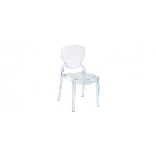 chaise windsor transparente lot de 2