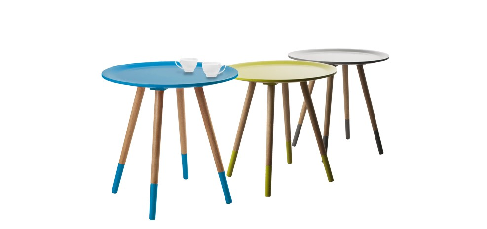 table basse art bleue