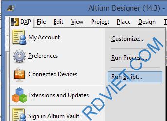 Altium-Runscript