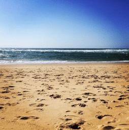 La plage de la Lette Blanche à Vielle-Saint-Girons