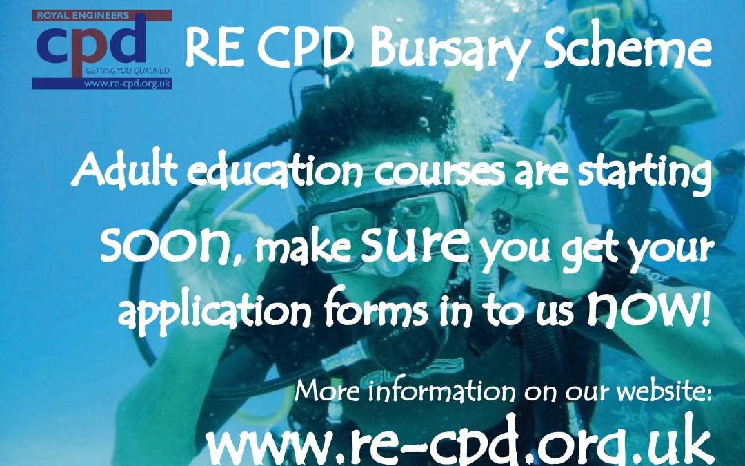 RE CPD Bursary Scheme