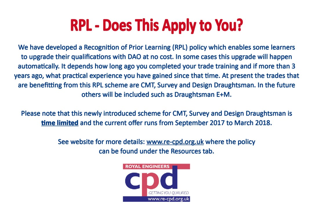 RPL – Does This Apply To You?