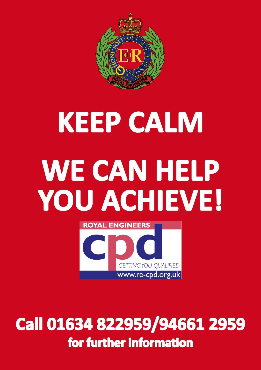 Keep Calm We Can Help You Achieve!