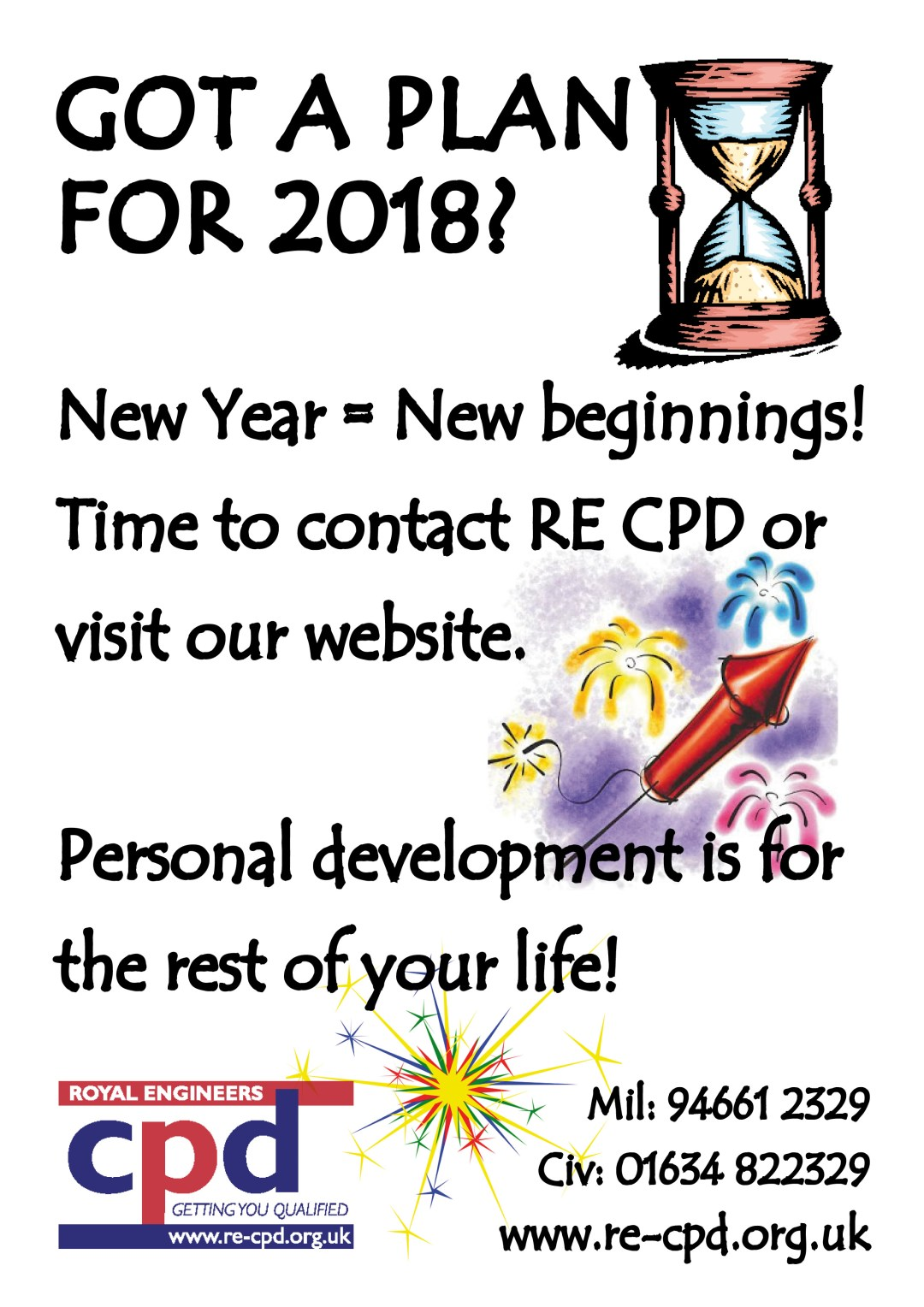 What is your CPD plan for 2018?