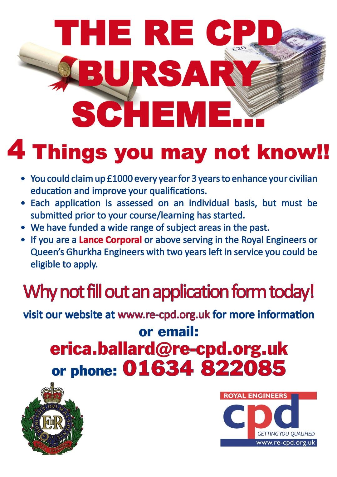 The RE CPD Bursary Scheme – 4 Things you may not know!