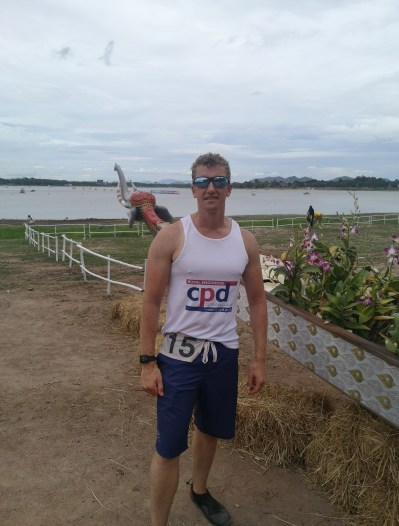 RE CPD SUPPORTS SAPPER DRAGON BOAT RACER REPRESENTING GB!