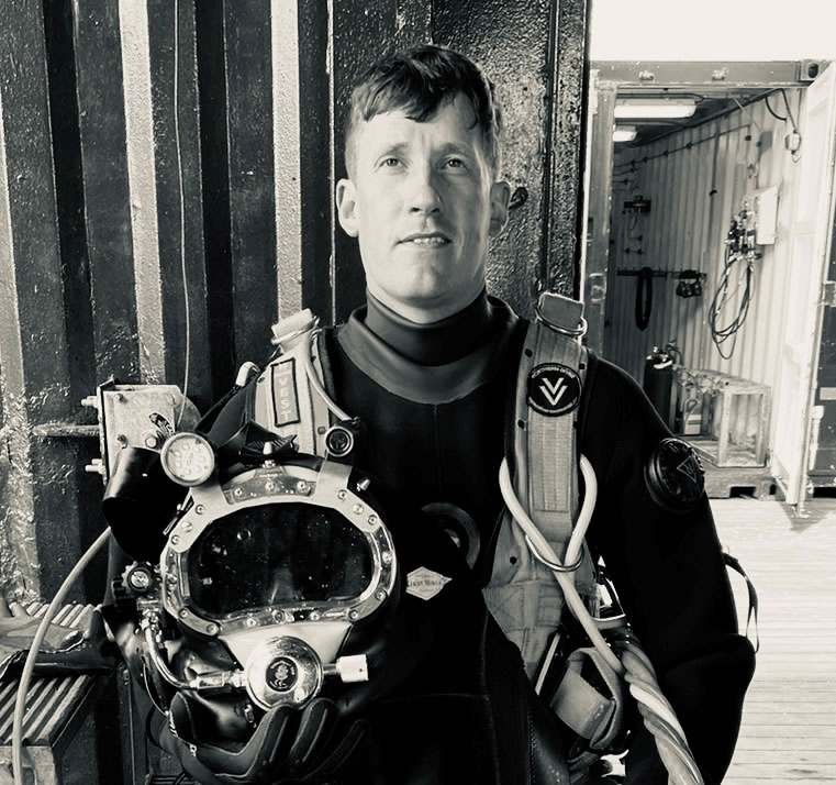 BLOWING BUBBLES  – MY HSE 'SURFACE-SUPPLIED' DIVING COURSE