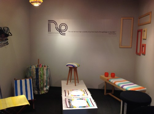RE's booth at Design Hub
