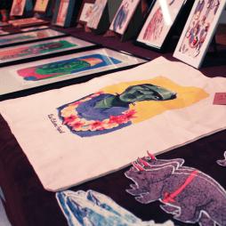 More vibrant Art by exhibitors