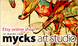 mycks art studio: Etsy online shop