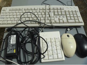 キーボードやマウスも大丈夫