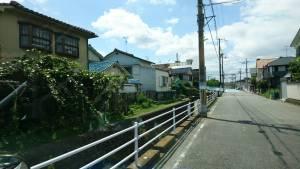 宝塚市の閑静な住宅街