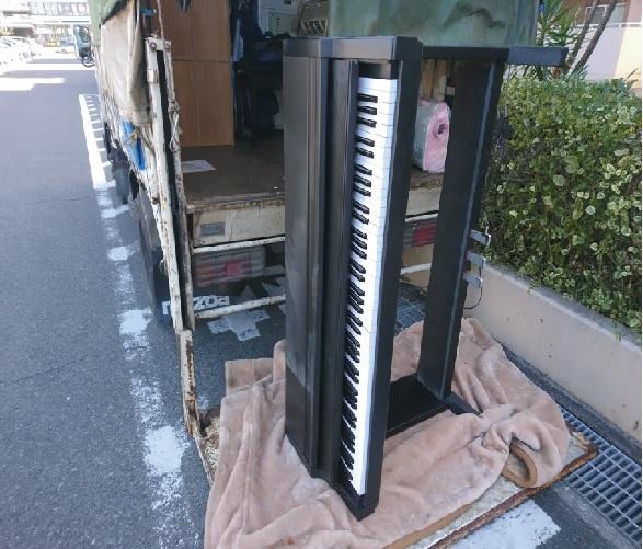 電子ピアノ搬出