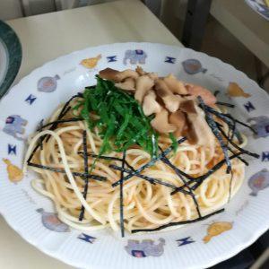 食品サンプル・キノコスパゲッティ
