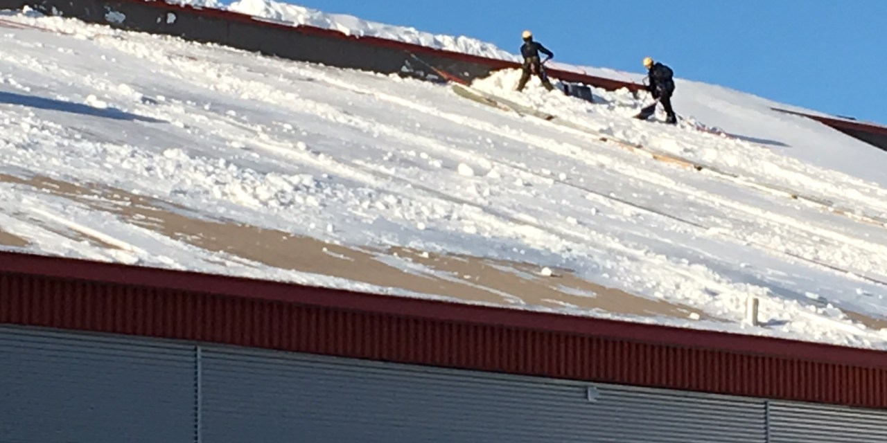 Managing Snow at the Arena