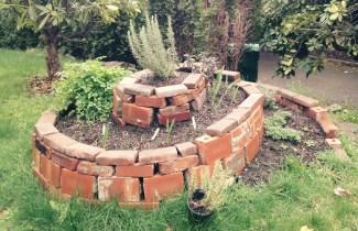 Garden Herb Spiral