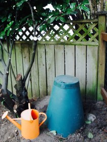 green cone backyard composting
