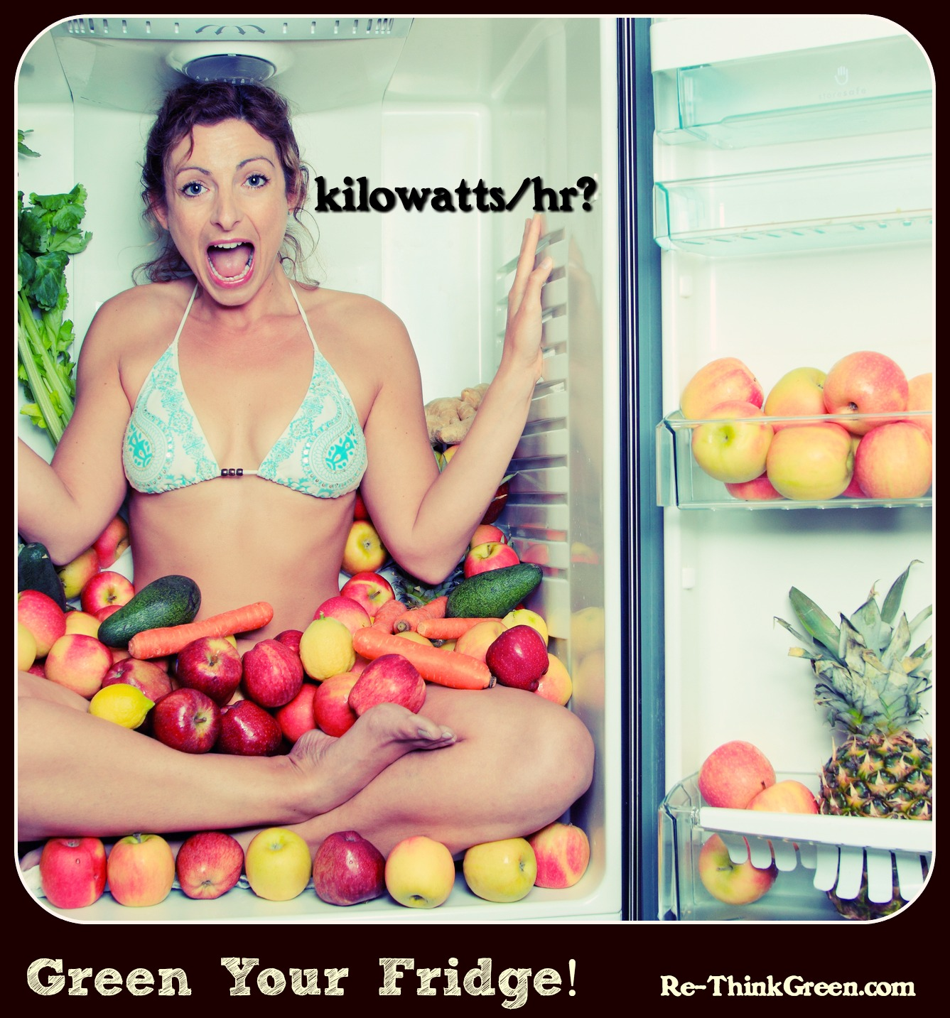 Green your fridge KWh