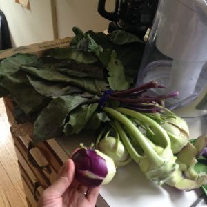 Enough Kohlrabi to Share