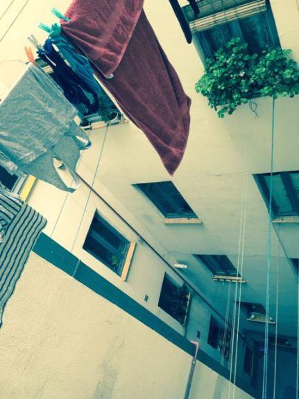 laundry 5 floors up