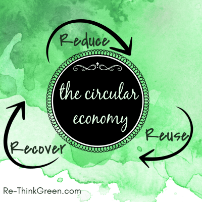 We can continue to grow our economy if we reduce, reuse, recover materials.