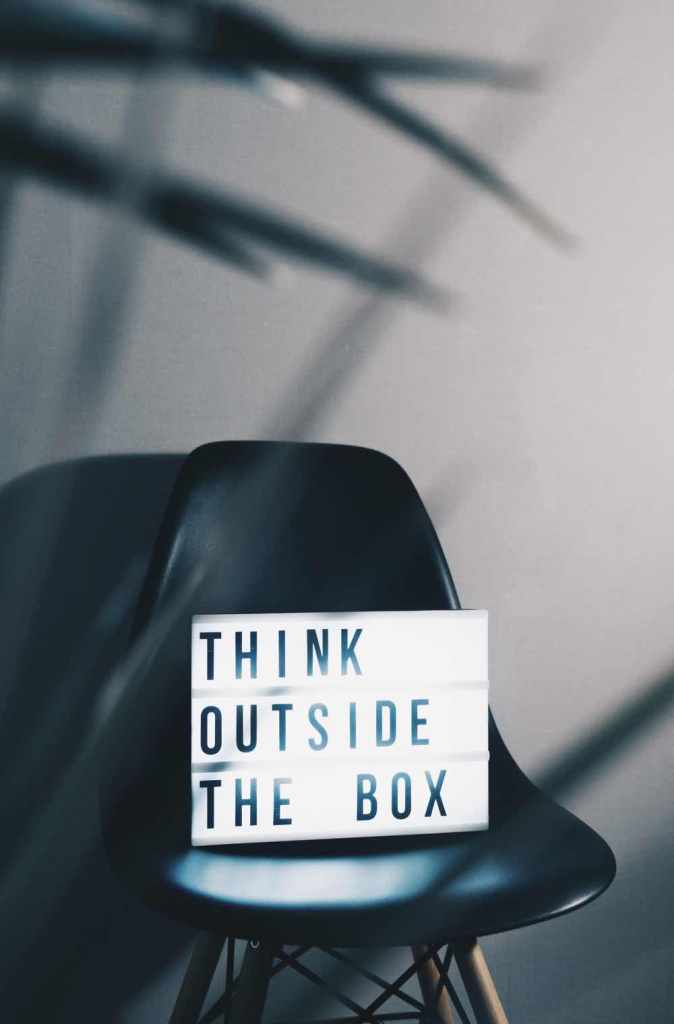 2,300 Posts in 2,300 Days: Think outside the box