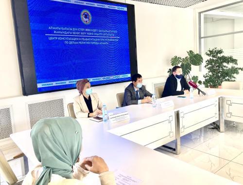 Ағымдағы жылдың 22 қыркүйек күні «Нұр-Мүбәрәк» Египет ислам мәдениеті университетінде пресс-конференция өтті.
