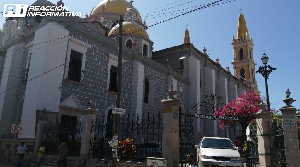 Basilica Cathedral of the Immaculate Conception restored in Mazatlan