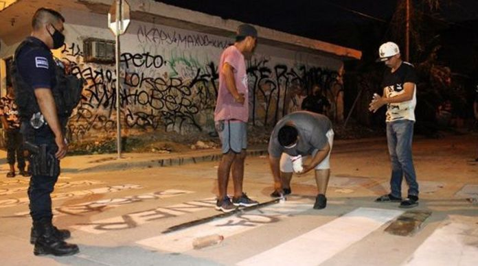 GRAFFITIERS OF THE NEW MALECON
