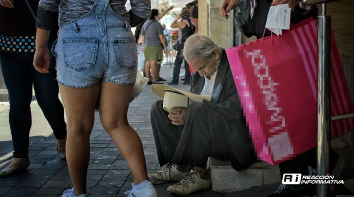 People begging People asking for money on the street