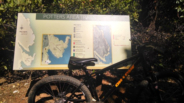 Potters Ravine trails