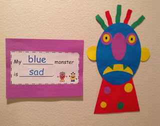 emotions monster art