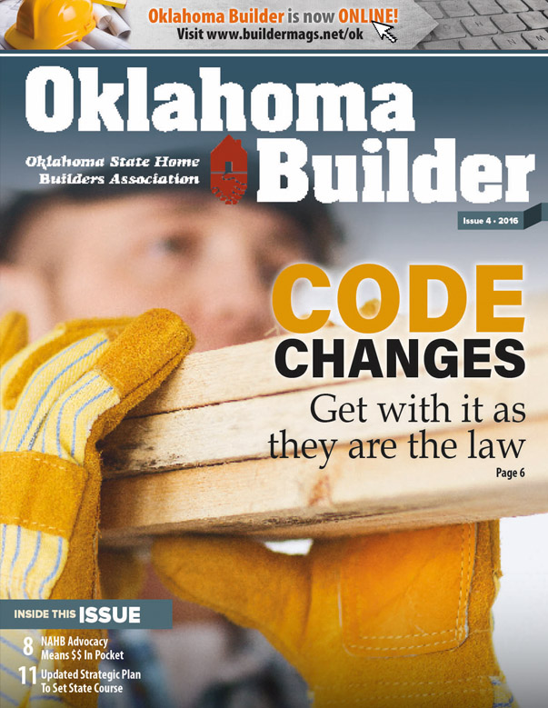 Oklahoma Builder Magazine Cover