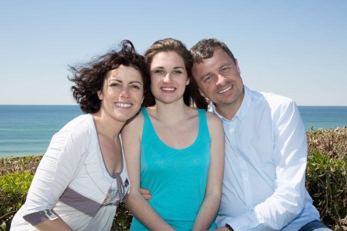 happy, family