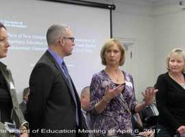 Sanborn Regional School district tells the state board about their PACE experience