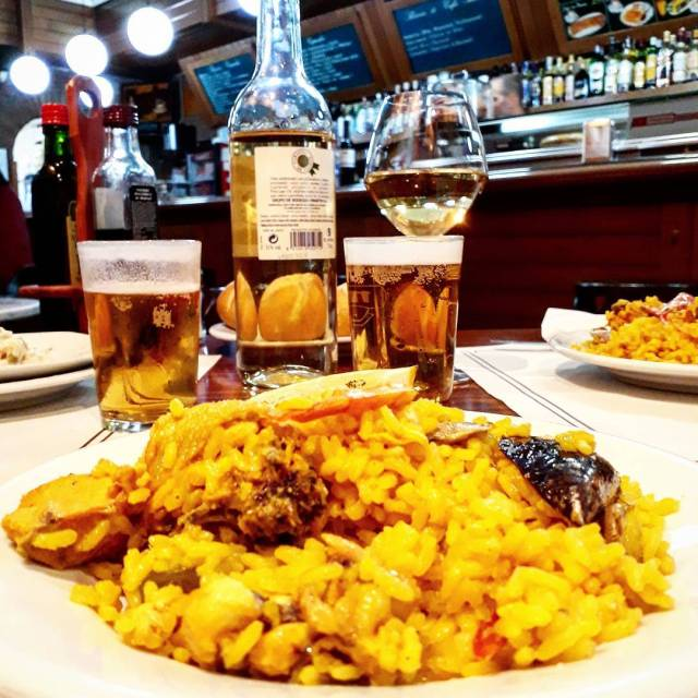 In Madrid you can find a 3course daily menu drinkshellip