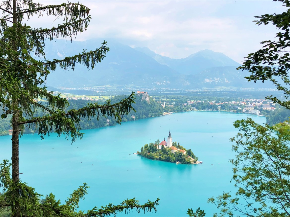 Viewpoint of Lake Bled