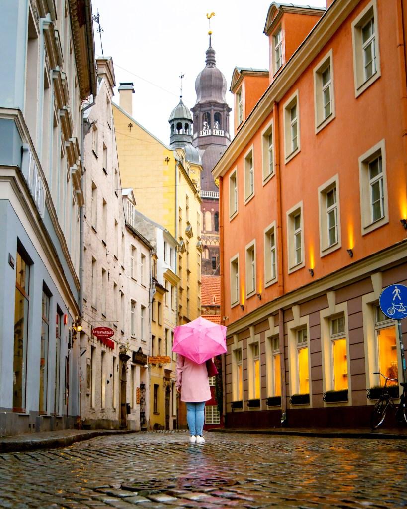 Riga Old Town, Latvia