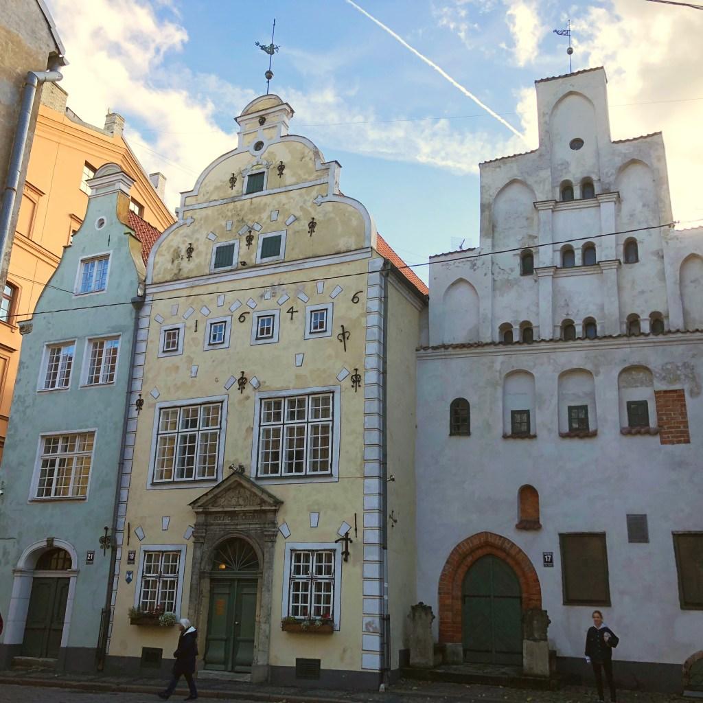 Three Brothers, Riga Old Town, Latvia