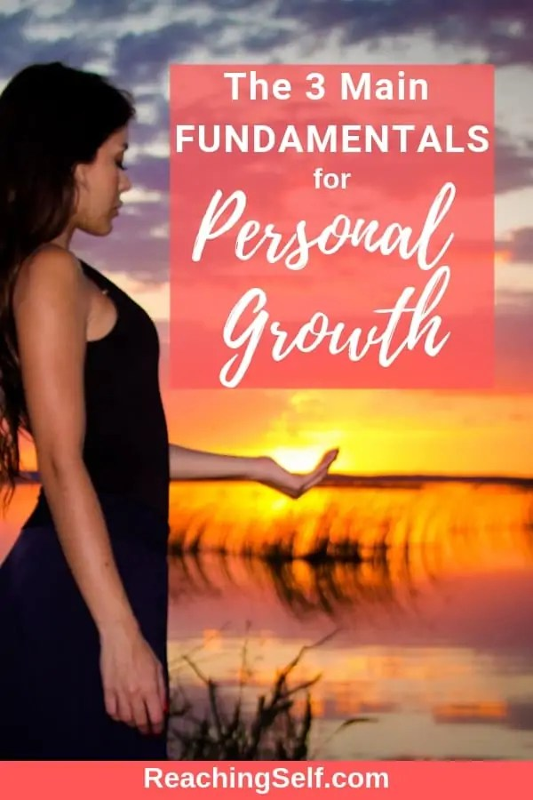 What is absolutely required for personal growth? In this article I discuss the three main essential fundamentals for personal growth and why. You can grow without these three things.