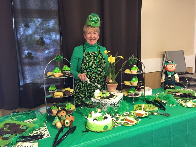 Kathy shares the luck of the Irish