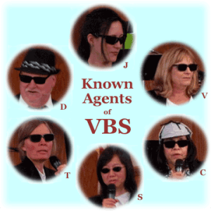 Known agents of VBS