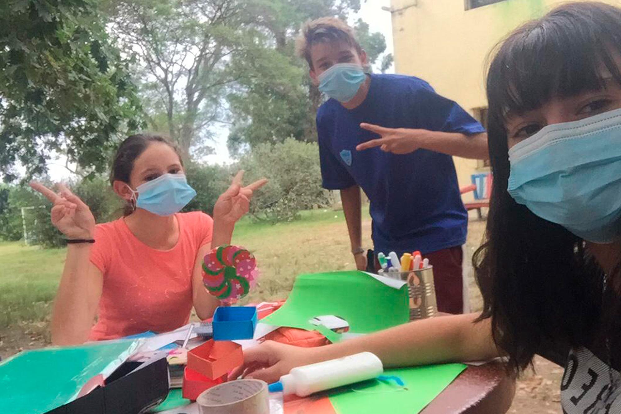Programa de apoyo extracurricular para adolescentes de Las Piedras