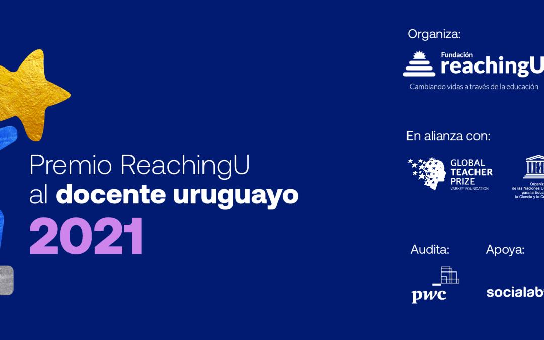 Tercera edición del Premio ReachingU al docente uruguayo