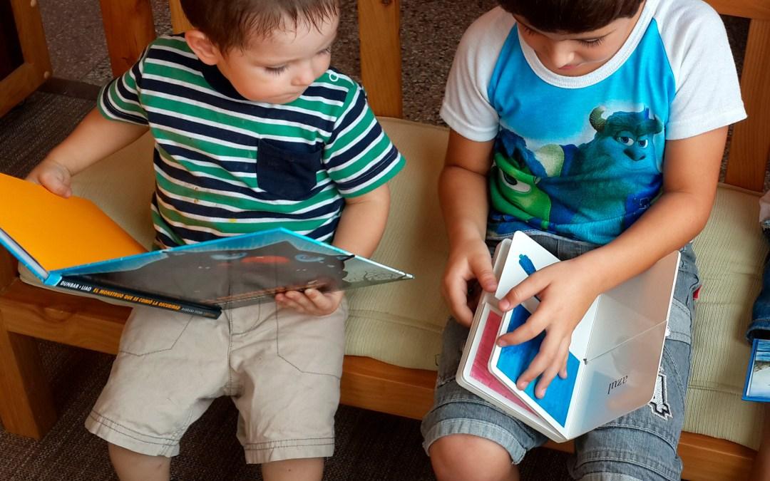 Promoción de la lectura y la expresión artística en la primera infancia