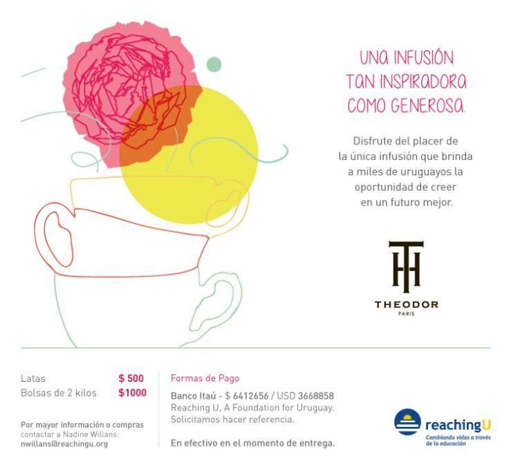 ReachingU & Theodor: disfrutá de un té rico y saludable