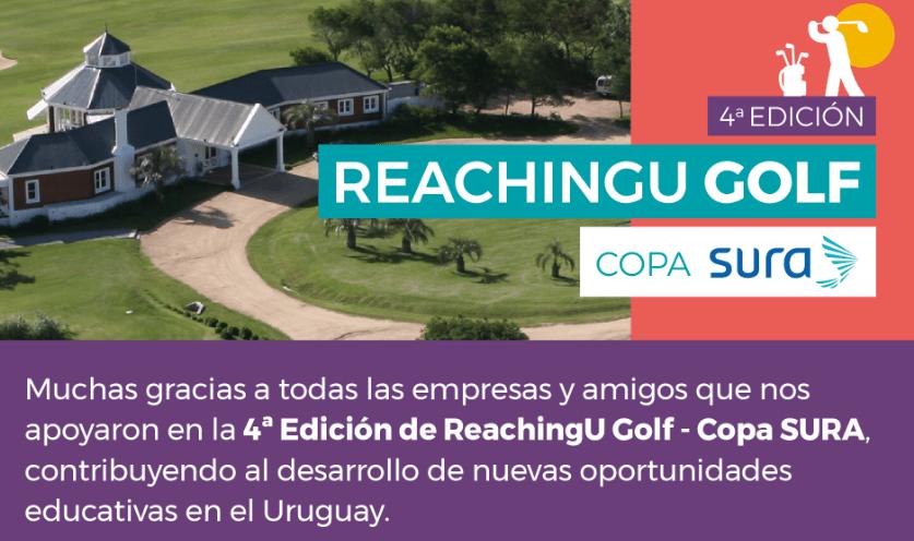 4ª Edición: ReachingU Golf – Copa Sura