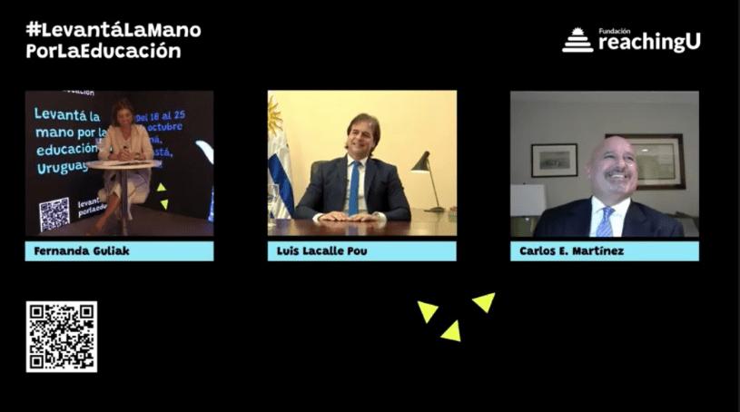 Entrevista con el presidente de la República, Luis Lacalle Pou